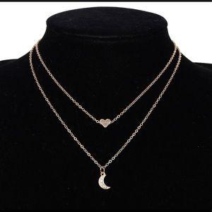 Diamond Layered Star Necklace 💫